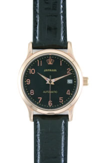 D222-25714&#10Case material: brass&#10Braclet material: genuine leather&#10Movement type: mechanical selfwinding