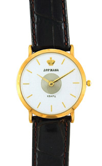 D227-25112&#10Case material: brass&#10Braclet material: genuine leather&#10Movement type: quartz-mechanical