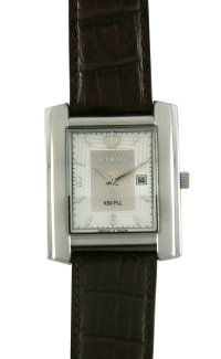 D301-35205&#10Case material: steel&#10Braclet material: genuine leather&#10Movement type: quartz-mechanical with calendar