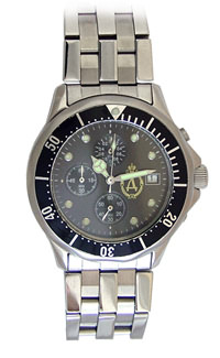 D310-74305&#10Case material: with turning ring, steel-steel&#10Braclet material: steel(plated)&#10Movement type: quartz-mechanical chronograph